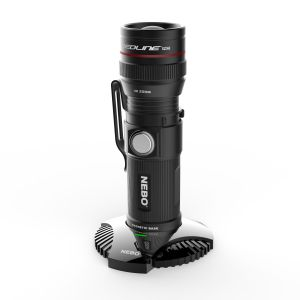 Nebo Rechargeable Torch, torch with charging dock