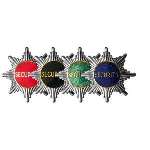 Security Officer Star Cap Badge