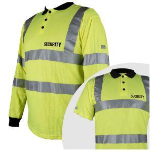 Hi-Vis Polo Shirt - Security