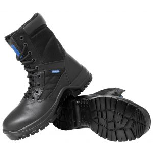 "Blueline Patrol 8"" Waterproof Leather-Nylon"