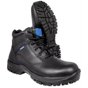 """Blueline 6"""" All Leather Patrol Boots"""
