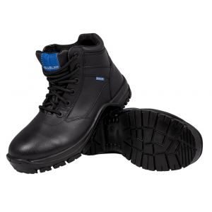 "Blueline 6"" All Leather Patrol Boots"