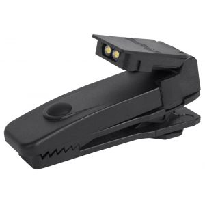 Spot-On Dual LED Dock Light, black LED dock light, police clip on light