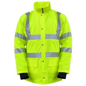 Hi-Vis Winter Rain Jacket