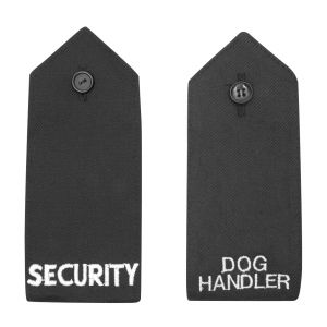 Button Epaulettes with Text