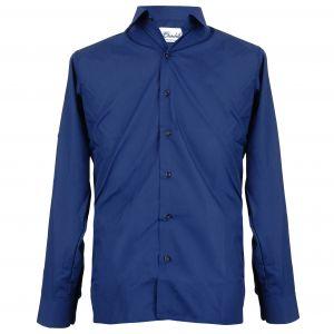 Ladies Lightweight Long Sleeve Uniform Shirt - Navy