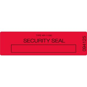 Void Seal Residue Label - Small