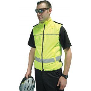 Hi-Vis Sleeveless Bike Jacket