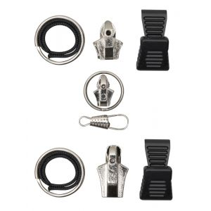 Nickel Zipper Repair - 3 Pack