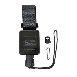 RT3 Retractable Sidearm Super Force Tether - Hook & Loop Strap Mount