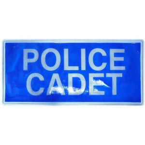 Police Cadet Hook & Loop Reflective Badges