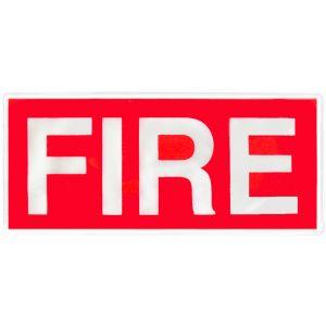 Fire Hook & Loop Reflective Badges