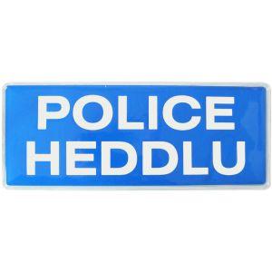 Police Heddlu Sew On Reflective Badges