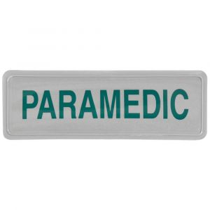 Paramedic Hook & Loop Reflective Badges