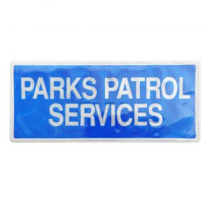 Parks Patrol Services Sew On Reflective Badges