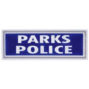 Parks Police Sew On Reflective Badges