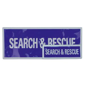 Search & Rescue Sew On Reflective Badges