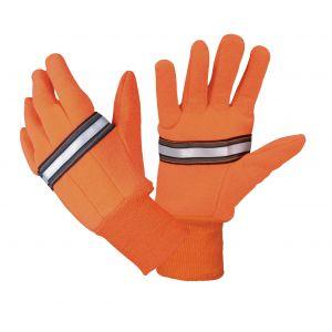Reflective Traffic Gloves - Orange
