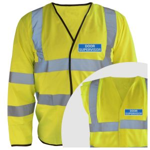 Hi-Vis Door Supervisor Vest