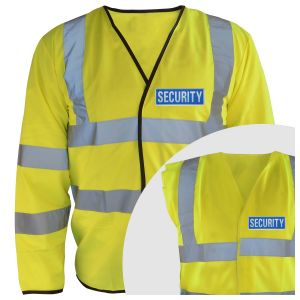 Hi-Vis Security Vest
