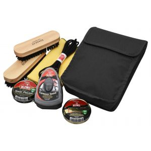 Tactical shoe cleaning kit, boot cleaning kit, footwear cleaning kit