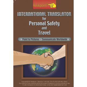 International Personal Safety and Travel Visual Language Translator