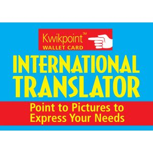 International Visual Language Translator - Wallet Size