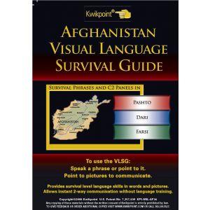 Afghanistan Visual Language Translator -  Survival Guide