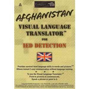 Afghanistan Visual Language Translator For IED Detection - Restricted