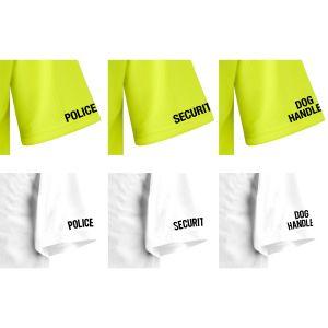 Comfort Shirt Stencil Logos - Pairs
