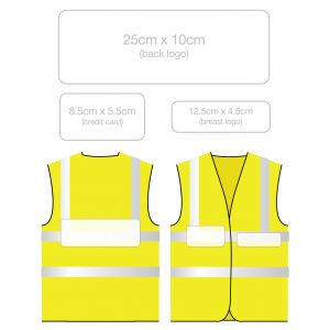 Clear Pockets For Reflective Badges