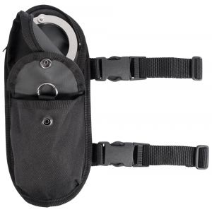 Nylon Motorcycle Boot Rigid Cuff Pouch