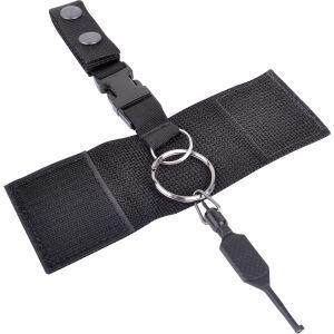 Nylon Keeper with Silent Key Hanger