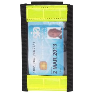 Hi-Vis Belt Mounted ID Holder