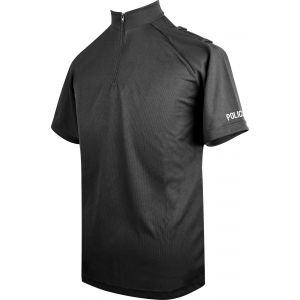 Niton Tactical Police Short Sleeve Comfort Shirt - Black