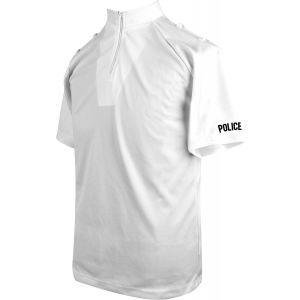 Niton Tactical Police Short Sleeve Comfort Shirt - White