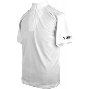 Niton Tactical Security Short Sleeve Comfort Shirt - White