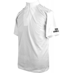 Niton Tactical Dog Handler Short Sleeve Comfort Shirts - White