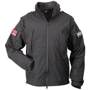 Niton Tactical Soft Shell Jacket - Black