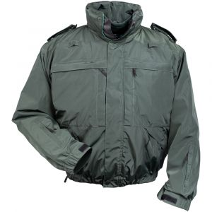 Mission 5 Jacket - Midnight Green, Medic Green Multifunctional Jacket, Ambulance Jacket