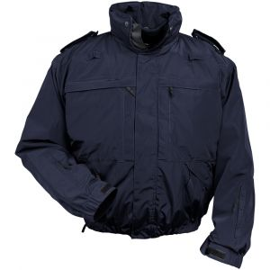 Mission 5 Jacket - Navy, Dark Blue Multifunctional Jacket, Navy Security Jacket