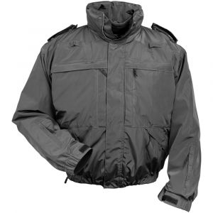 Mission 5 Jacket - Grey, CT Grey Multifunctional Jacket, Grey CTFSO Jacket, Grey Waterproof Duty Jacket