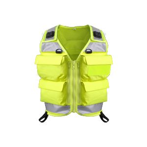 Niton Tactical 4 Pocket Vest - Yellow
