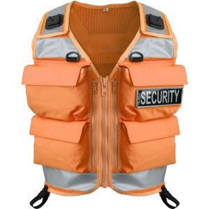Niton Tactical 4 Pocket Vest - Orange