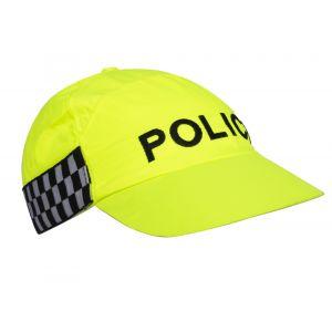 Police Hi-Vis Yellow Baseball Cap