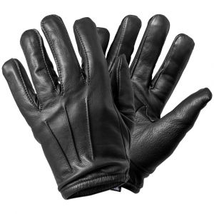 Niton Tactical Search Gloves, Black Leather Search Gloves