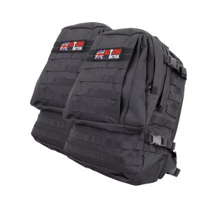 MATES RATES Assault Bag With MOLLE - Black
