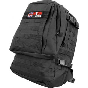 Assault Bag With MOLLE - Black