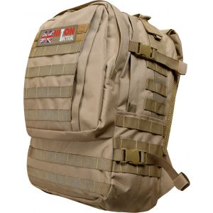 Niton Tactical Assault Bag With MOLLE Sand