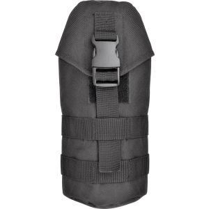 Nylon MOLLE Water Carrier Pouch - Black